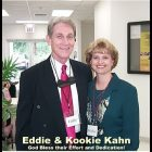 Eddie Ray Kahn and wife.