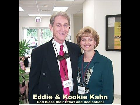 Eddie Ray Kahn and wife.